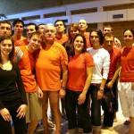 Photo de groupe ACBB Triathlon au meeting Anne Pinon