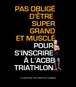 Le triathlon c'est pour tout le monde !