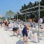 triathlon-deauville-2013-jeunes-transition-parc