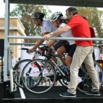 Rampe de départ du Tour de France
