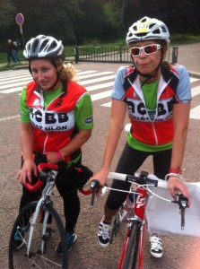 Sabine et Nancy à la Gentleman du cœur 2013
