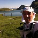 Ronan sur le trail la 6000D