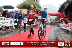 Didier Dumoulin à l'arrivée de l'Ancilevienne 2013