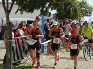 CAP de l'équipe femmes à l'Aiguillon-sur-mer