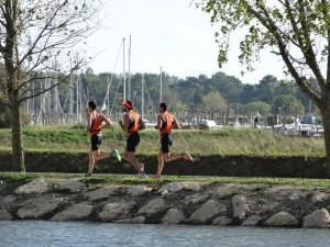 Equipe hommes ACBB Triathlon à la coupe de France
