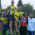 Podium du raid XTrem pour Raid Runners au raid val d'Oise 2013