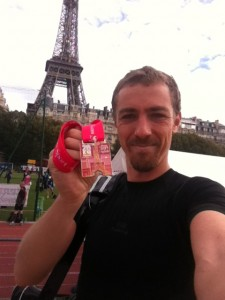 Ronan Lumbroso Finisher au 20km de Paris