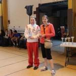Podium Sandie Beugnon au triathlon de Nemours