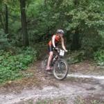 Sandie à VTT au triathlon de Nemours