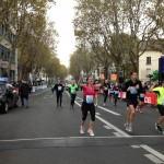 Caroline en termine avec le semi marathon de Boulogne 2013