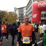 Denis en termine avec le semi de Boulogne 2013