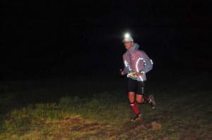 Thomas Moreau au trail de la Croix de Fer 2013