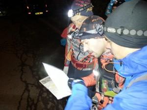 Les Raid Runners à la Noct'Orientation 2013