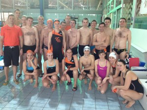 ACBB Triathlon au stage natation de Vittel