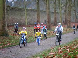 girls au bike and run