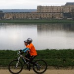 orange devant le chateau de Versailles