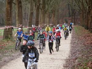 longue ligne droite du bike and run de Versailles