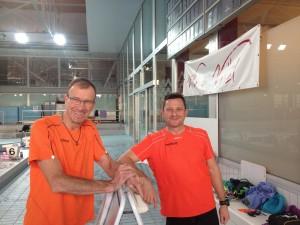 Coach ACBB Triathlon au stage natation