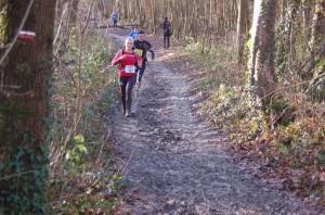 Charlotte Mathieu au trail des marcassins