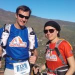 Christophe Domain et Christine Lavarde au Trans Gran Canaria 2014