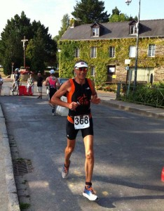 Denis Bulourde au Breizhman 2014