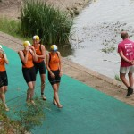 Demi-finale de D3 de triathlon à Angers