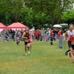 Matthieu au triathlon d'Annecy