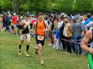 Adrien au triathlon d'Annecy