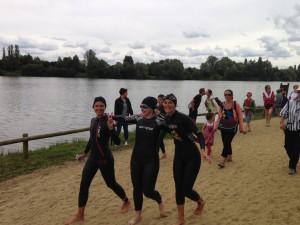 Les filles au triathlon de la Ferté Bernard 2014