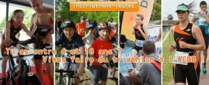 Inscriptions Jeunes à l'ACBB Triathlon