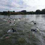 Natation au triathlon de la Ferté Bernard 2014