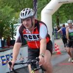 Transition vélo du triathlon de Nevers Magny Cours
