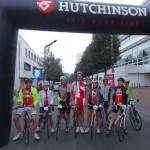 Départ de la cyclo Levallois Honfleur 2014