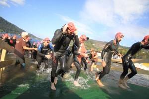 Sortie à l'australienne au triathlon de Gérardmer 2014
