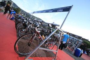 Parc à vélo du triathlon de Gerardmer 2014