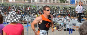 Louis au triathlon de Carnac