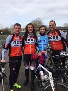 L'ACBB Triathlon aux boucles des Yvelines 2015