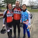 Caroline, Sergiu, Sylvie aux boucles des Yvelines