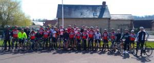 L'ACBB Triathlon en stage vélo en Normandie