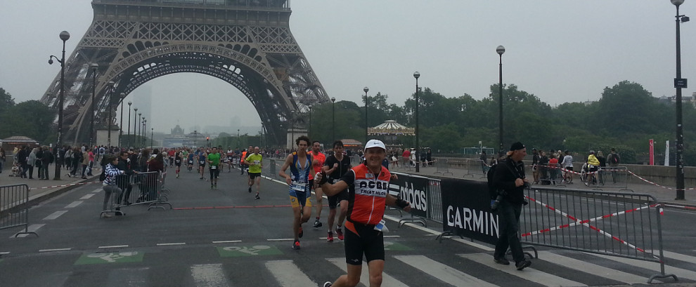 Triathlon de Paris 2016