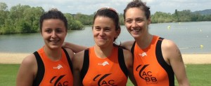 Equipe féminine D3 de l'ACBB Triathlon