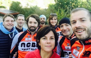 L'ACBB Triathlon à la Gravity Race 2016