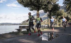 Agnès et Camille en course à pied à la Gravity Race 2016