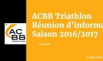 Réunion information