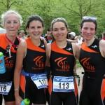 Les filles de l'ACBB Triathlon au triathlon de Versailles 2013