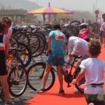 Sortie club au triathlon de Deauville 2013