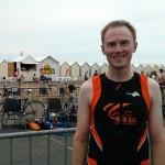 Alexandre Carton au Triathlon de la baie de Somme