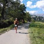 Embrunman 2013 - Charlotte Mathieu sur le marathon