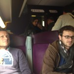 Ironbask dans le train