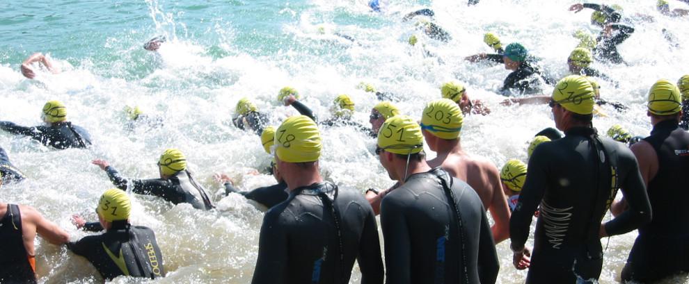 Départ triathlon Beauvais 2006